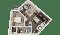 create an interior floor plan in 3D in 24h