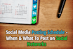 post on Your Social Media Account 20 times Per Month