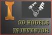 design 3D models in Inventor