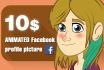 animate you for Facebook ANIMATED profile picture
