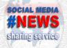 share your News on social media