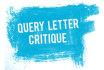 critique your query letter