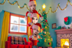 create funny Christmas and New Year video with your faces