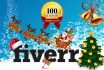 design BEST Christmas cards, Banners or Posters