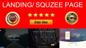 design Valentines Day special  Responsive Landing Page or Squeeze Page
