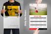 design professional custom calendar 2017