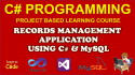 provide full featured C Sharp and MySql WINFORM application Code