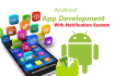 build a simple Business Android APP with Notification System
