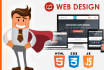 design Responsive Website Or Web Page