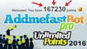 give you 2000 Addmefast points