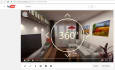 make 360 degree panorama interactive render in HD