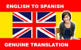 translate words from English to Spanish and French