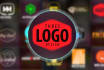 design 3 creative logoz and free PSD