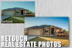enhance and touchup your real estate listing photos