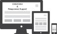 create responsive layout website