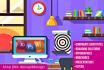 create web banner Ebook cover social media advertisement