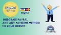 integrate Paypal to your website