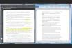 retype your paper, scanned documents into MS Word