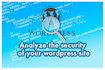 analyze the security of your wordpress site