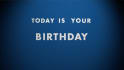 create a Happy Birthday video