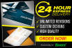 design Custom business card for you