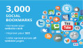 boost your ranking with 3000 Social Bookmark SEO backlinks in 24 hours