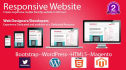 create Responsive website in 40hours