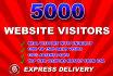 deliver 5000 adsense safe website traffic within 5 days
