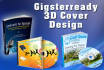 design your 3D Ebook covers Box CDs Dvds and Books