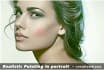 paint your portrait look realistic high quality