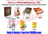 convert your existing flat 2D image into a professional 3D cover applicable for ebook, dvd/cd, video course, e learning course, software box