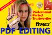 edit adobe PDF document