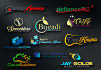 design stunning logo with express delivery