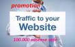 send minimum 100 000 visits on your website per week