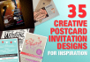 design attractive  flyer or postcard ,resumes,business cards