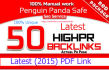 give you 50 High pr Latest 2015 pdf seo Backlink