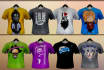 create an original custom tshirt design