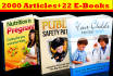 give 2000 PLR Articles and 22 EBooks on Baby Care Pregnancy