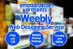 design, Revamp or Edit your Weebly Website In 24 Hours