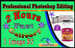 do exclusive photoshop editing super fast delivery