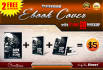 do professional eBOOK cover with 2 free 3D previews