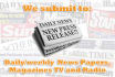 submit your press release to Google News 300 news and blog sites