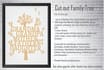 create Personalized Cut Out Family Tree Art