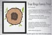 create Personalized Tree Rings Family Tree Art