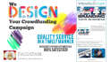 design you a stunning fundraiser page
