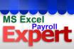 prepare MS Excel Payroll