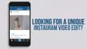 edit a 60 second Instagram video