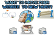 move Your Website To a New Host
