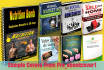design eBook or Kindle cover that converts
