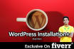 install and Config WordPress for you